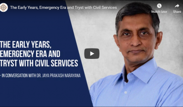 The Early Years, Emergency Era and Tryst with Civil Services