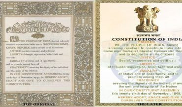 The Individual and Indian Constitution